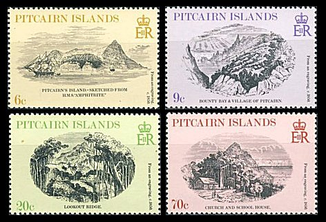 Pitcairn Islands 1979 - peisaje, serie neuzata