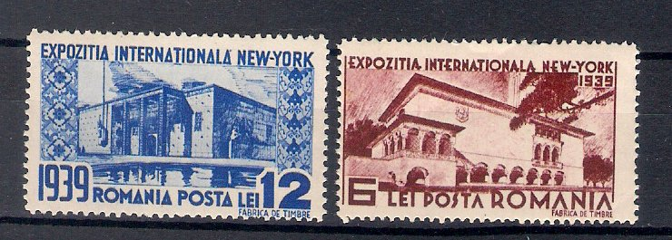1939 - Expo New York, serie neuzata