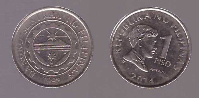 Filipine 2014 - 1 piso XF
