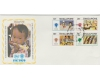 Singapore 1979 - UNICEF, serie FDC