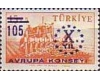 Turcia 1959 - Council of Europe, neuzata