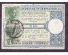 1940 - Cupon de raspuns international circulat