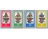 DDR 1967 - Playing Cards, serie neuzata