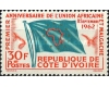 Cote Divoire 1962 - Union of African and Malagasy States, neuzat