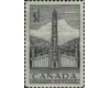 Canada 1953 Indian House and Totem Pole, MNH