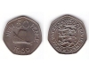 Guernsey 1969 - 50 new pence aUNC