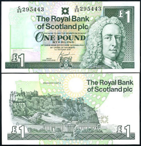 Scotia 2001 - 1 pound UNC