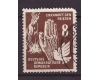 DDR 1950 - The Day of Peace val.8pf stampilat