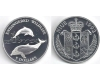 Niue 1992 - 5 dollars Ag, delfini, PROOF