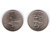 Guernsey 1968 - 5 new pence aUNC