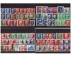 DDR 1950-1953 - Lot timbre stampilate, cota mare